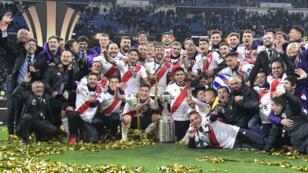 River Plate, nouveau champion d'Amérique du Sud.