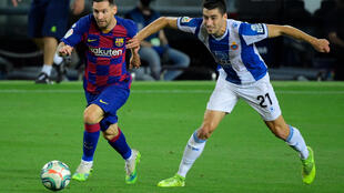 Bayern Munich are reportedly close to signing Espanyol midfielder Marc Roca (R)