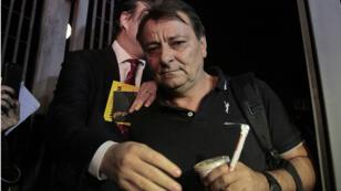 تشيزاري باتيستي في البرازيل. 13 مارس/آذار 2015.
