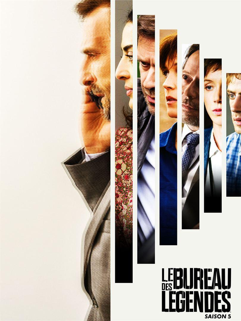 """Affiche de la saison 5 du """"Bureau des légendes"""". Canal +"""