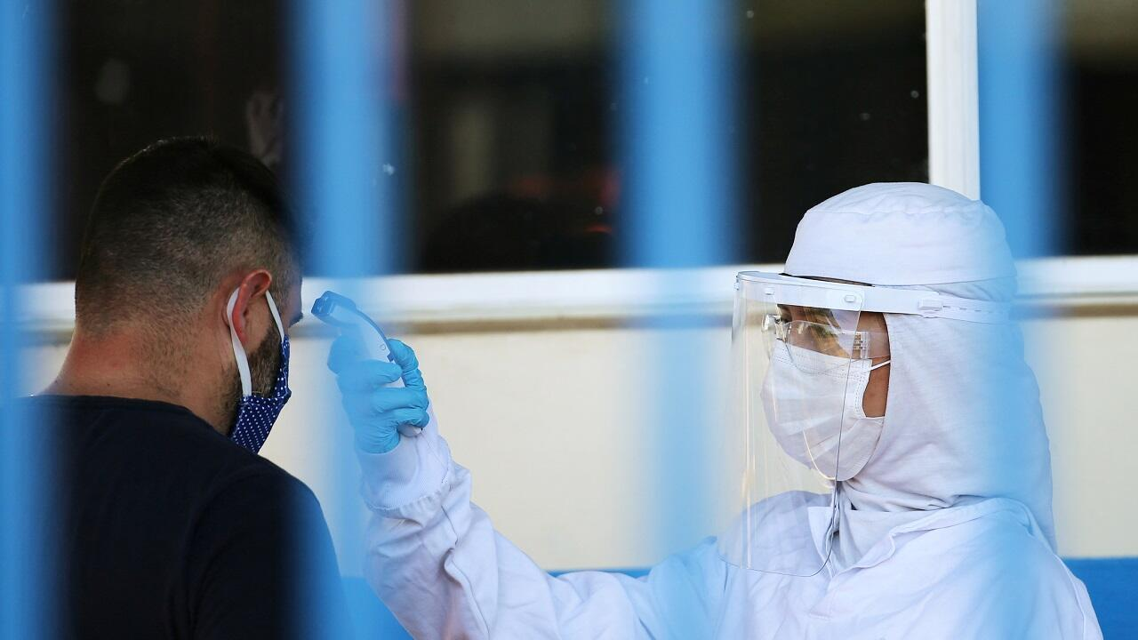 مكافحة تفشي فيروس كورونا في باسو فوندو ولاية ريو غراندي دو سول. البرازيل في 24 أبريل/نيسان 2020.