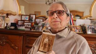 Juan Romero, à son domicile de Aÿ, dans le département de la Marne.