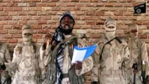 Captura de pantalla del vídeo publicado por Boko Haram el 15 de enero de 2018