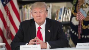 Le président américain Donald Trump à Orlando, en Floride, le 3 mars 2017.