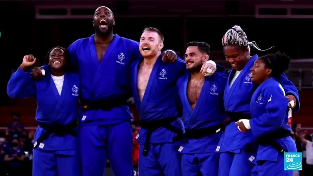 2021-08-02 18:08 JO de Tokyo : Les judokas français de retour en France