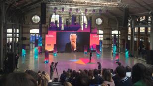 Le fondateur de WikiLeaks s'est exprimé durant 60 minutes devant le public de la MaddyKeynote, à Paris.
