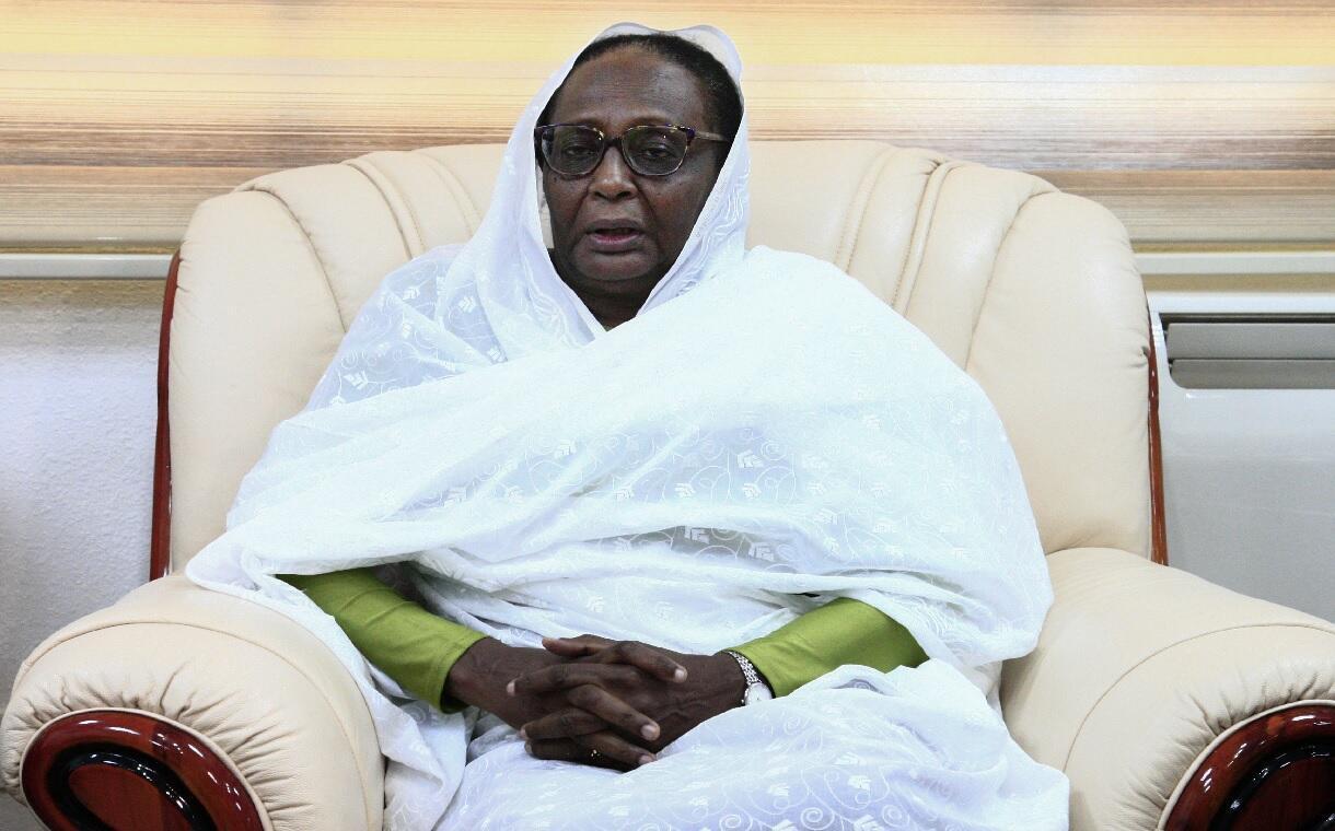 أسماء محمد عبد الله وزيرة الخاريجة السودانية