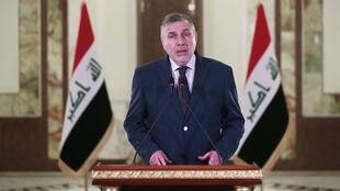 Mohammed Allawi annonce qu'il ne formera pas de gouvernement, le 1er mars 2020.