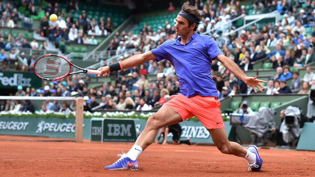 Roger Federer n'a pas traîné pour s'imposer face au Français Gaël Monfils (6-3, 4-6, 6-4, 6-1).