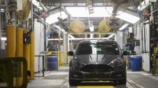 Une image qu'on ne verra plus, n'en déplaise à Donald Trump : une Ford Focus construite dans le Michigan