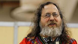 Richard Stallman, le pape du logiciel libre.