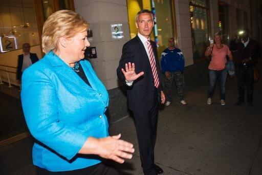 Erna Solberg est pressentie au poste de Premier ministre.