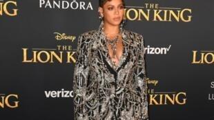 Beyoncé, le 8 juillet 2019 à Hollywood