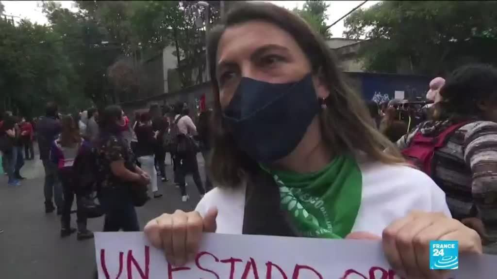2021-03-30 10:11 Outrage grows over police custody death in Mexico