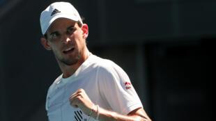 Third seed Domininc Thiem raced into the Australian Open third round