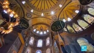 2020-07-10 22:01 Erdogan says first Muslim prayers in Hagia Sophia will be on July 24