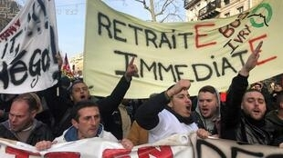 retraites france manifestation