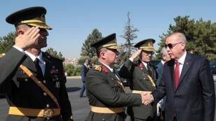 الرئيس التركي رجب طيب أردوغان. 30 أغسطس/آب 2019.