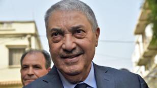 L'ancien Premier ministre algérien Ali Benflis, à Alger le 20 février 2019.