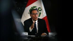 El mandatario peruano, Martín Vizcarra, presentó ante el Congreso un proyecto para declarar en emergencia el Ministerio Público