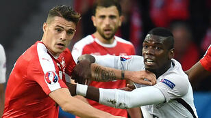 La France et la Suisse se sont quittés sur un score nul et vierge (0-0).