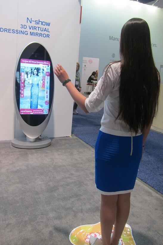 مرآة ذكية للتسوق من البيت -  معرض لاس فيغاس للكماليات 2017