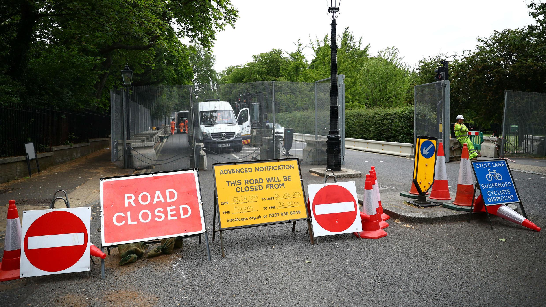 Un fuerte operativo de seguridad se ha desplegado en Londres para la visita del mandatario estadounidense. El viaje previo de Trump a Reino Unido le costó alrededor de 17 millones de dólares a la Policía británica.