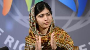 La Pakistanaise Malala Yousafzai avait réchappé in extremis en octobre 2012 à une tentative de meurtre.
