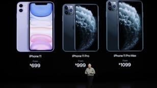 فيل شيلر نائب رئيس قسم التسويق الدولي لأبل أثناء تقديم آي فون 11، 10 سبتمبر/أيلول 2019.