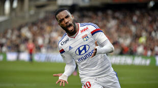 L'attaquant lyonnais, Alexandre Lacazette, avait marqué un triplé contre Lille en octobre. Il en est désormais à 15 buts.