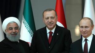 La rencontre entre Rohani, Erdogan et Poutine doit déterminer le calendrier de l'offensive contre Idleb.
