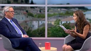 Le réseau social a choisi Laetitia Nadji, une youtubeuse française, pour interviewer le président de la Commission européenne Jean-Claude Juncker en direct, le 15 septembre 2016.