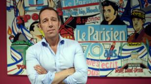 Le directeur des rédactions du Parisien/Aujourd'hui en France, Stéphane Albouy, le 2 juillet 2015, à Saint-Ouen.