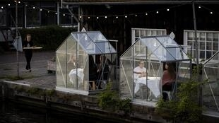The 'greenhouse effect' has now had an impact on coronavirus dining in Amsterdam
