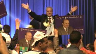 Le dernier meeting de l'équipe du président Bouteflika