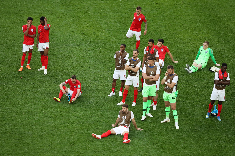 La última vez que Inglaterra disputó un tercer y cuarto puesto fue en Italia 1990, competencia en la que también perdieron el tercer puesto ante la anfitriona de ese año.
