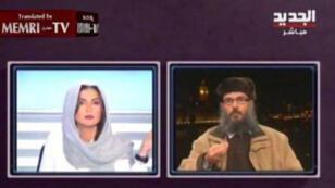 Sans se départir de son calme Rima Karaki a préféré couper court à l'entretien.