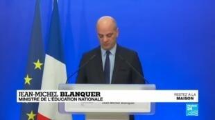 2020-04-03 12:07 Coronavirus en France : Contrôle continu, pas d'épreuves finales pour le Bac 2020