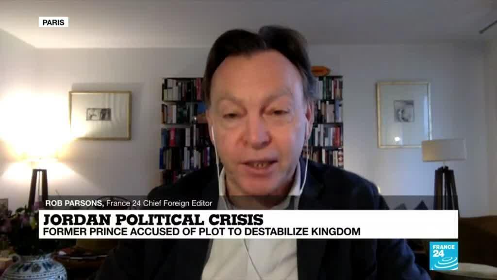2021-04-05 08:03 Jordan political crisis: Former Prince accused of plot to destabilise kingdom