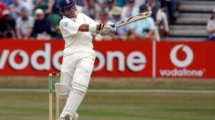 Power-packed: Alec Stewart in his England playing days