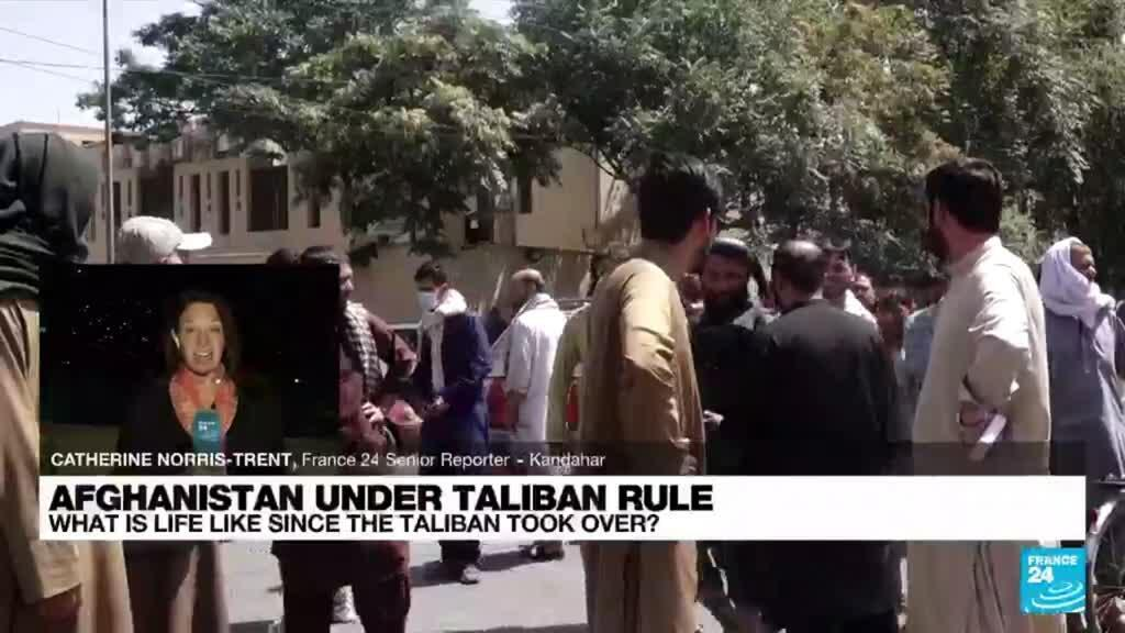 2021-10-06 18:20 FRANCE 24 in Afghanistan: 'Incremental changes' since Taliban take-over