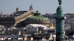 L'Opéra de Paris, le 22 avril 2020