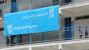La suspensión de ayuda por parte de Estados Unidos a la UNRWA afectará principalmente el sector de la educación en Palestina, como esta escuela, una de las tantas en la ciudad de Ramala que funcionan con fondos de la ONU.