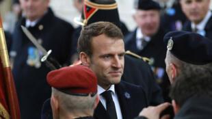 يختتم ماكرون الأحد في باريس احتفالات الذكرى المئوية لانتهاء الحرب العالمية الأولى