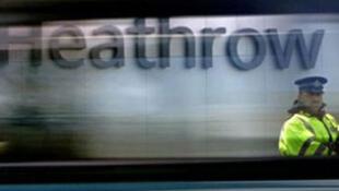 L'aéroport d'Heathrow à Londres.
