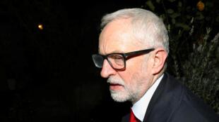 Jeremy Corbyn royaume uni labour defaite legislatives brexit