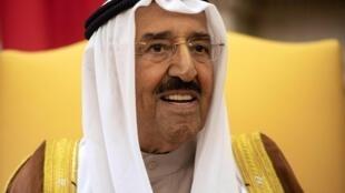 أمير الكويت في 5 سبتمبر/أيلول 2018.