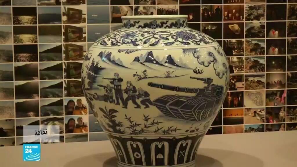 """ثقافة - ألمانيا: معرض """"كل شيء فن.. كل شيء سياسة"""" فنان صيني يروي معاناة الهجرة"""