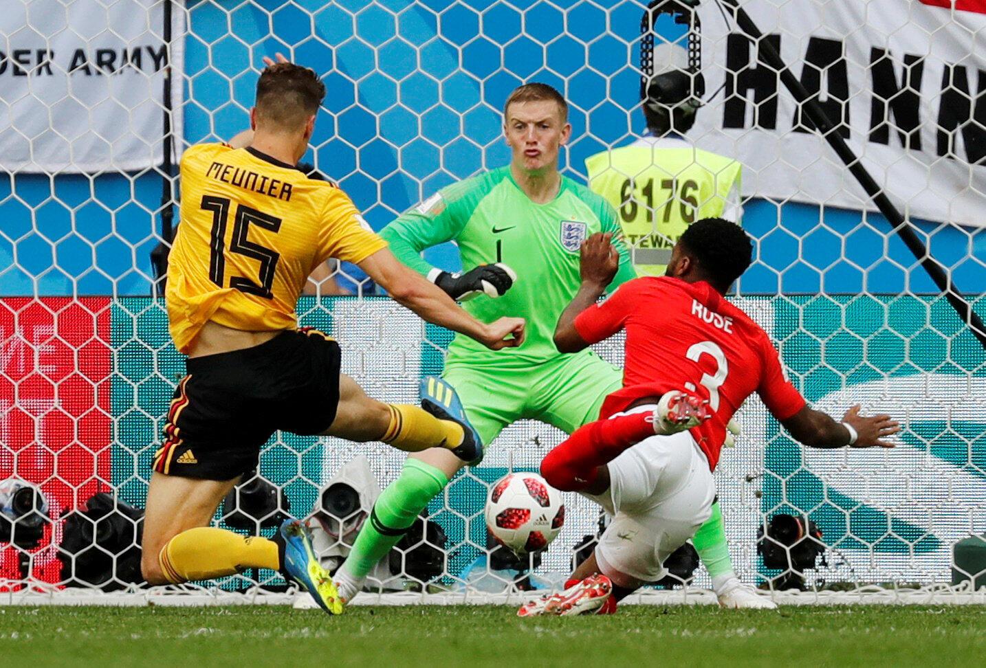 En el minuto 82, Eden Hazard amplió el marcador a favor de su equipo, tras un pase filtrado con precisión por Kevin De Bruyne. El 10 belga consiguió el segundo tanto que dio la victoria y el tercer puesto a su selección el Rusia 2018.