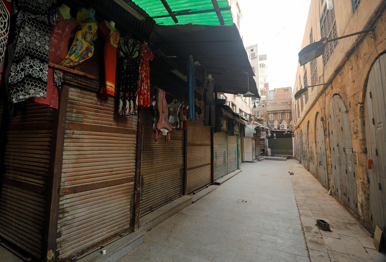 أسواق مغلقة في مصر